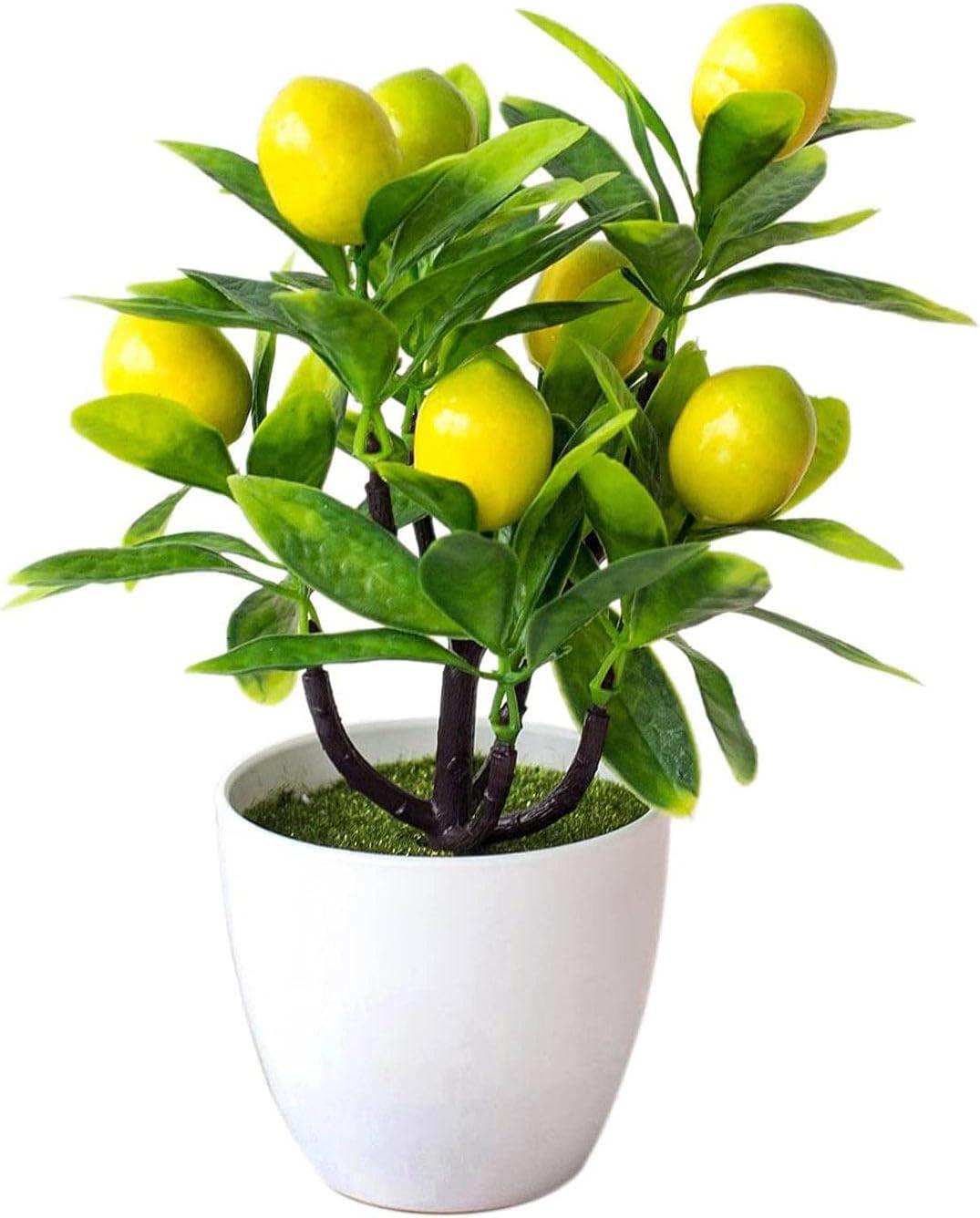 Artificial Lemon Tree Mini Potted Max 61% OFF Department store Bo Simulation