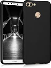 kwmobile TPU Silicone Case Compatible with Huawei Y9 (2018) / Enjoy 8 Plus - Soft Flexible Protective Phone Cover - Black ...
