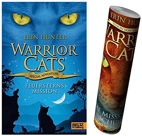 Beltz & Gelberg Warrior Cats - Special Adventure. Feuersterns Mission + Warrior Cats Poster