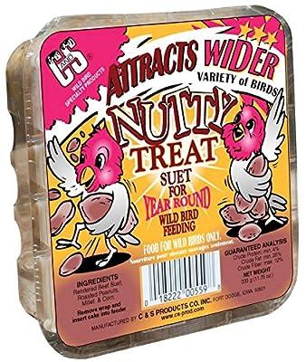 Nutty Suet Cake Treat For Wild Birds