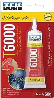 Tekbond T6000, Cola para Artesanato, Multicolor