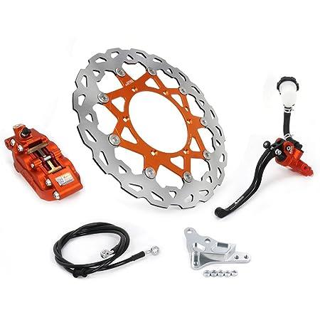 Jfg Racing Cnc Hinterradbremse Kühlung Verlängerung Für 125 530 Sx Sx F Xc Xc W Exc Exc F 2004 2016 Orange Auto
