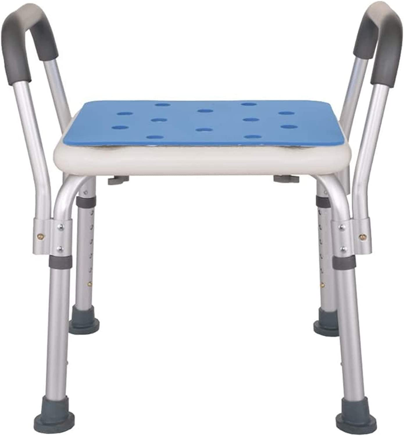 Medical Limited time cheap sale Padded Seat Transfer Las Vegas Mall Bench Shower Stool Alloy Aluminum