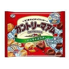不二家 カントリーマアム(バニラ&ココア) 20枚×16袋