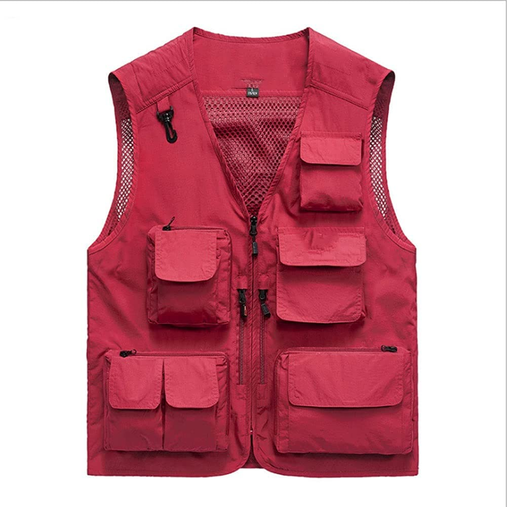 Fishing Animer and price revision Vests for National uniform free shipping Men Photography Vest Multi-Pocket