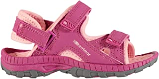 Official Brand Karrimor Antibes Sandals Infant Girls Rasberry/Pink Flip Flop Thongs Beach Shoes