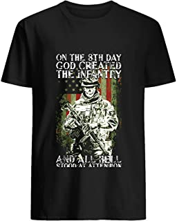 On the 8th day- God created the infantry and all hell stood at attention- 31