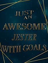 Just An Awesome jester With Goals: 2021-2022 Monthly Calendar Planner | Two Year Planner| 24 Months Calendar Schedule Agen...