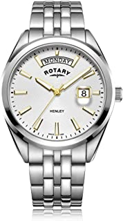 Gents Stainless Steel White Dial Henley Analogue Wrist Watch GB05290/70 …
