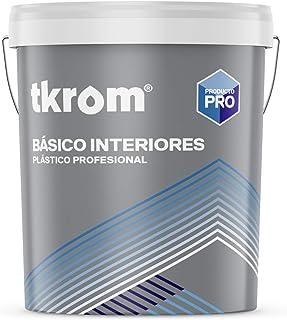 Pintura plástica Ecológica Tkrom SM-50 (15 litros)