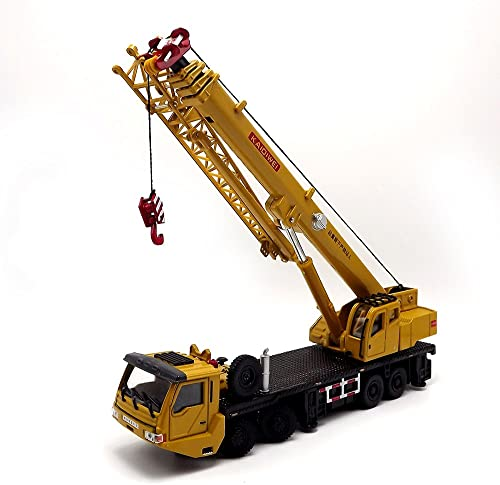 punto de venta barato EMart Kids Kids Kids Alloy Die-cast Model Toy Engineering Heavy Crane Truck Vehicle Car Simulation Miniature 1 55 amarillo Gift by E-MART  seguro de calidad