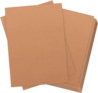 de 60 hojas Papel kraft DIN A4 320 g/m² de calidad Absofine Naturkarton de alta calidad Brown Natural fuerza Card Kraftkarton