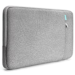 CornerArmor Patent: Compared with other similar laptop sleeve, tomtoc sleeve comes with original CornerArmor patent design at the bottom protects your device from drops and bumps, like the car airbag 360° Protection: Thick internal plush lining cushi...