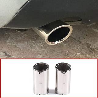 WPFC Car Auto Universal Silencieux Silencieux Silencieux Arri/ère Unadjustable Astuce Tuyau