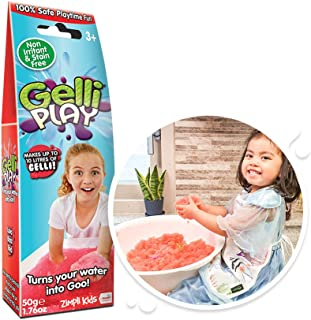 Gelli Play Red from Zimpli Kids, Turns water into thick, colourful goo, Early Years Educational Science Goo Making Kit, Ch...