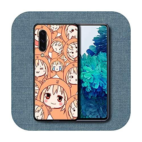 Carcasa para Samsung Galaxy A 3, 5, 7, 8, 10, 20, 21S, 30, 30, 40, 50, 51, 70, 71, silicona, impermeable, 4, Galaxy A5, 2017, diseño de anime, color negro