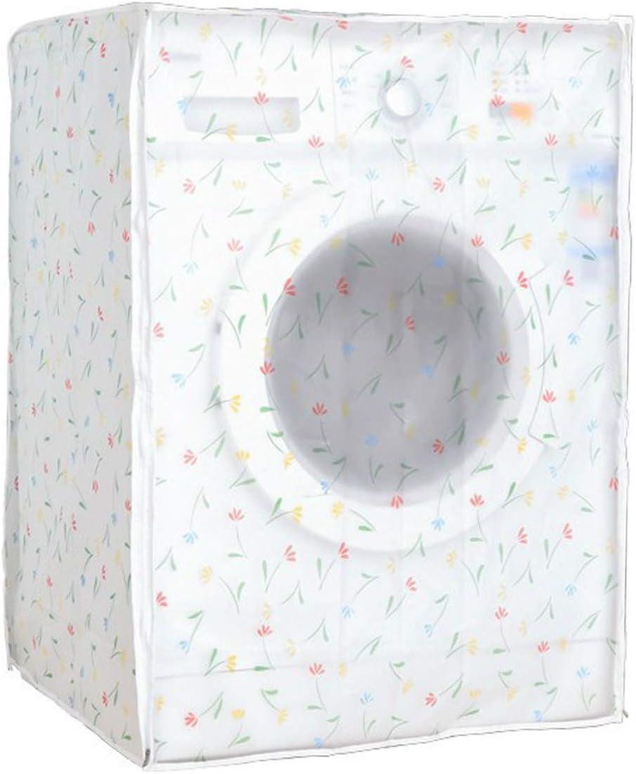 XGzhsa Cubierta de la lavadora, cubierta impermeable para lavadora, protector de secadora para lavadora de carga frontal, protector solar impermeable y cubierta a prueba de polvo para el hogar