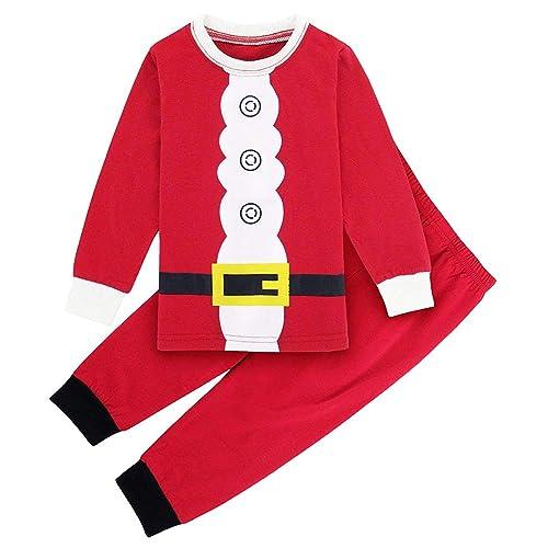 f1666a80eb TEDD Christmas Pjs Kids Pyjamas Set for Boys Pyjamas Cotton Toddler Baby  Clothes Girls Nightwear Fun