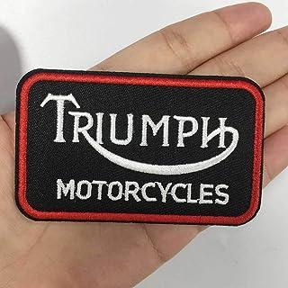 #b280 Size: 9,7 x 2,8 cm Triumph Thunderbird Embroidered Patch Iron on//Sew on 3,8/″ x 1,1/″