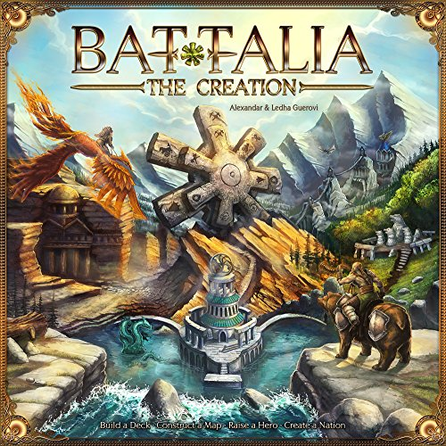 Fantasmagoria 53470 - Battalia The Creation Brettspiel
