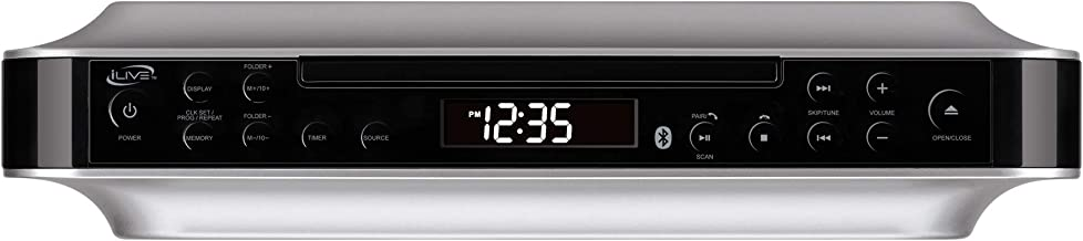 iLive Bluetooth Under Cabinet Radio (FM) CD Player and MP3 player , Bluetooth, USB, AUX..