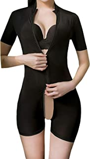 L04BABY Women Short Sleeve Sheer Mesh Bodysuit Bodycon Leotard Tops Clubwear