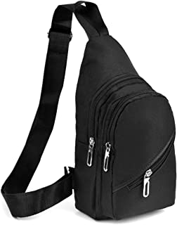 Westend Crossbody Sling Bag Backpack with Adjustable Strap