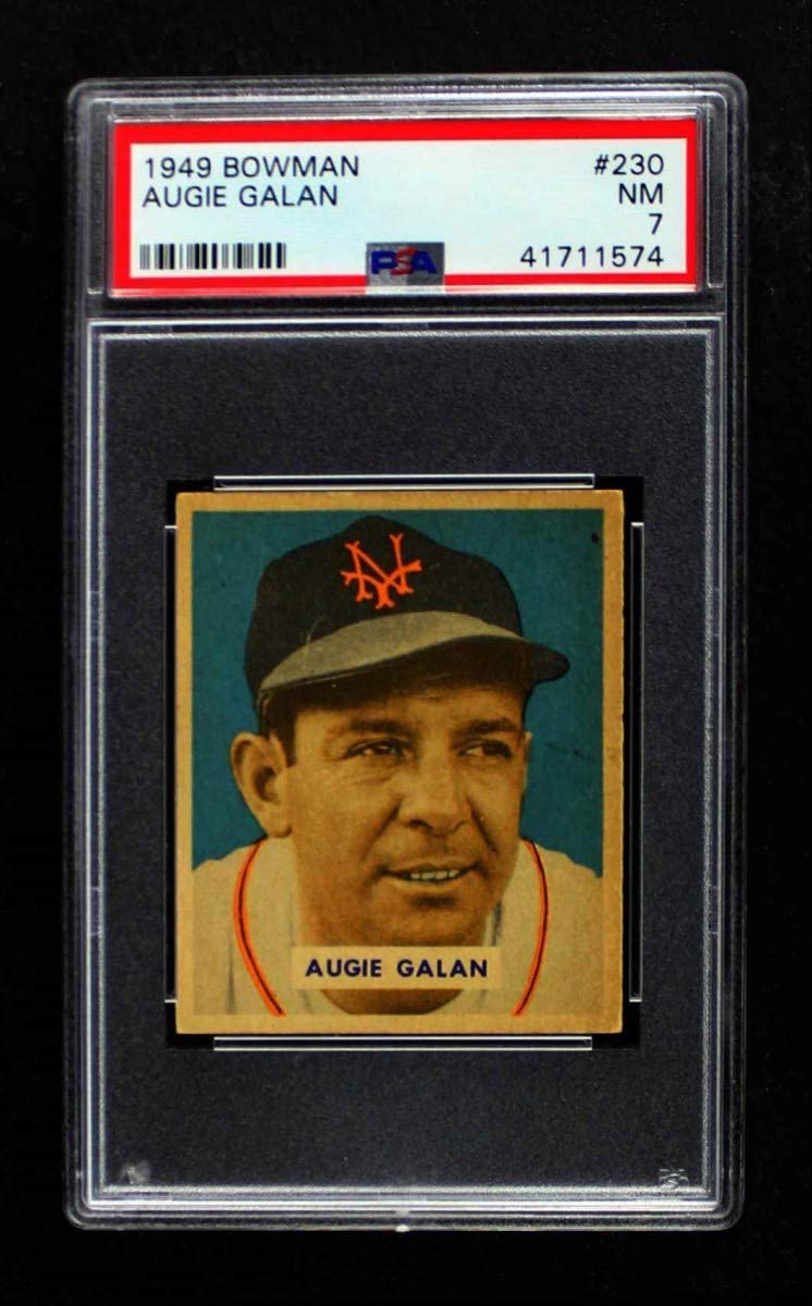 online shop 1949 Bowman # 230 Augie Galan New Baseball Card York Ranking TOP12 PS Giants