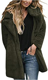 Topassion Women Cardigan Tops Casual Camo Cardigan Irregular Draped Stripe Open Front Long Sleeve Tunic Tops Lightweight Cardigan Coat Stripe Patchwork Long Cardigan Tops Blouse for Lady