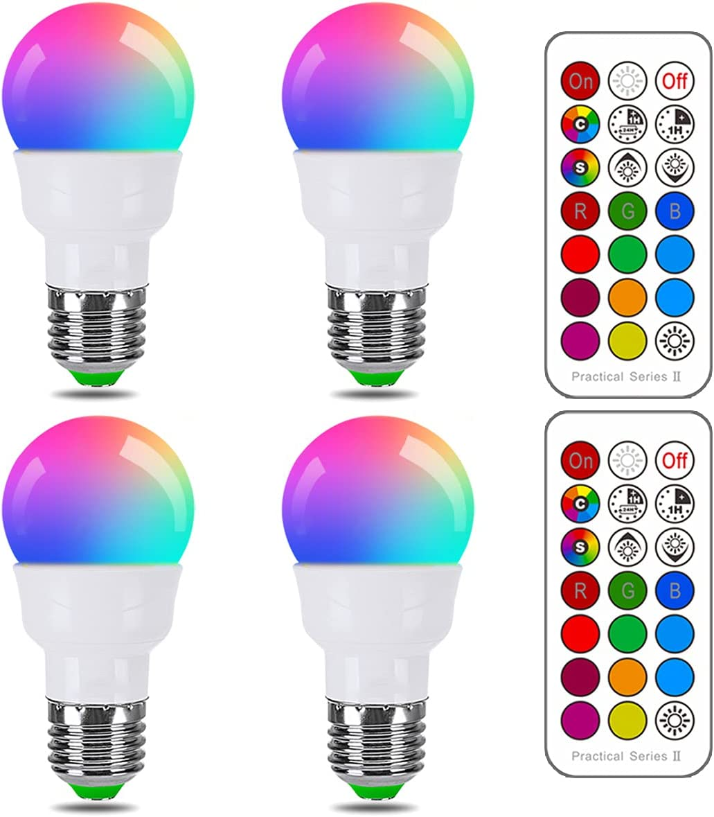Cheap super special Popular product price RGB LED Light Bulb Color Changing 40W Equivalent 4