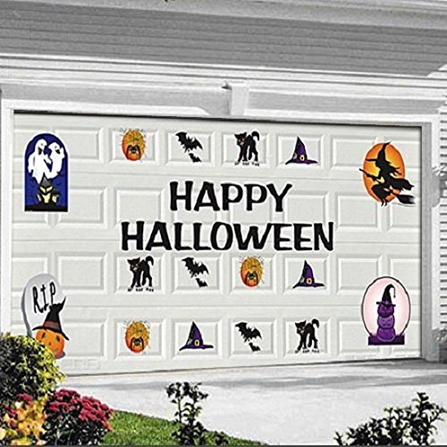 Happy Halloween Garage Door Magnets 30 Pcs