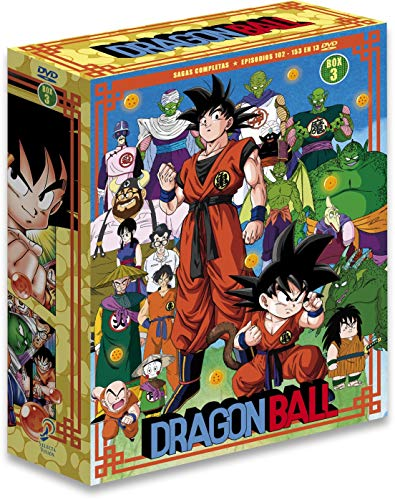 Dragon Ball Sagas Completas Box 3 Ep. 109 A 153 En 11...