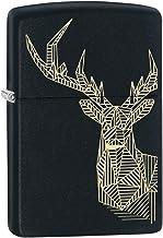 Zippo Aansteker STAG DESIGN DESIGN-218-Zippo Collection 2019-60004087-42,95 €, zilver, smal