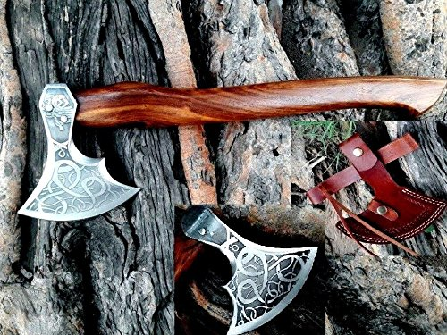 MDM axe for women, VINTAGE TOMAHAWK BEARDED AXE HAND FORGED VIKING STYLE HATCHET COMBAT AXE