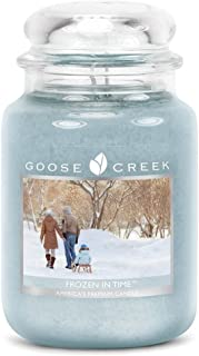 Goose Creek Scented Candles Frozen In Time Large Jar Candle Great Fragrance 24 oz