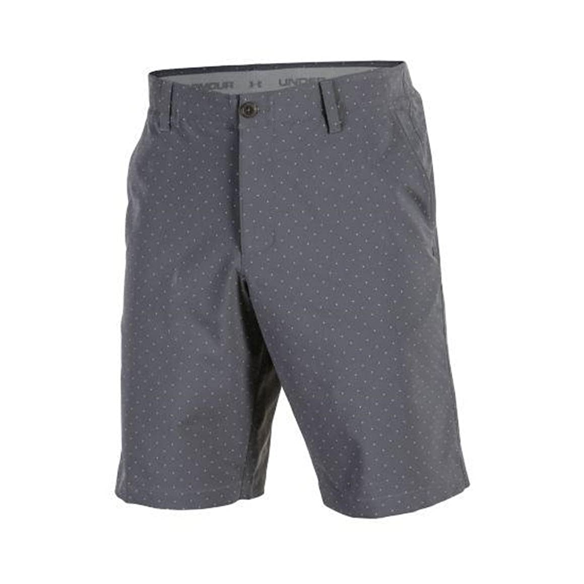 Under Armour NEW Men's Match Play Novelty Golf Shorts Rhino Grey Size 32