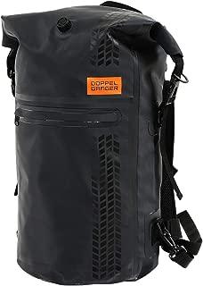 DOPPELGANGER(ドッペルギャンガー) ターポリンデイパック 【バイク用シートバッグ×デイパック】 容量:20L 防水 ターポリンバッグシリーズ DBT420-BK