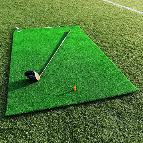 FORB Academy Golf Übungsmatte – Golfmatte zusammenrollen – Golf Tees Werden enthalten