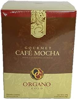 Organo Gold Gourmet Cafe Mocha,14.9 oz NET,15 sachets