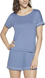Conjunto de pijama Curto - Viscose Lupo Feminino