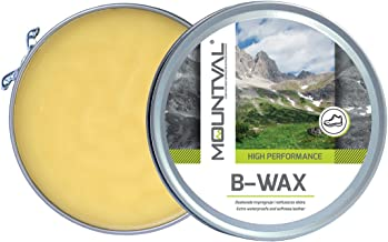 Mountval B-Wax, Waterproofing Wax For Leather Shoes And Boots Based On Natural Beeswax