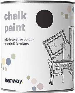 Hemway | Pintura de tiza negra - 1 litro