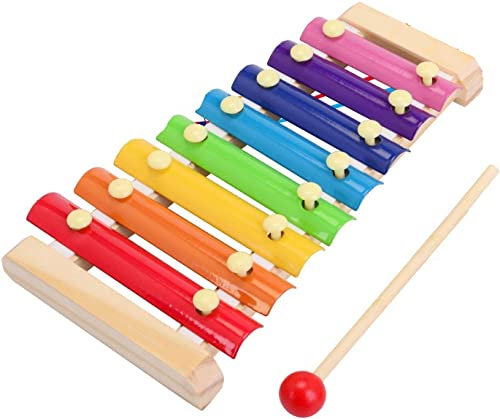 FunBlast Wooden Xylophone for Kids Musical Instruments Toys for Boys Girls Multicolor
