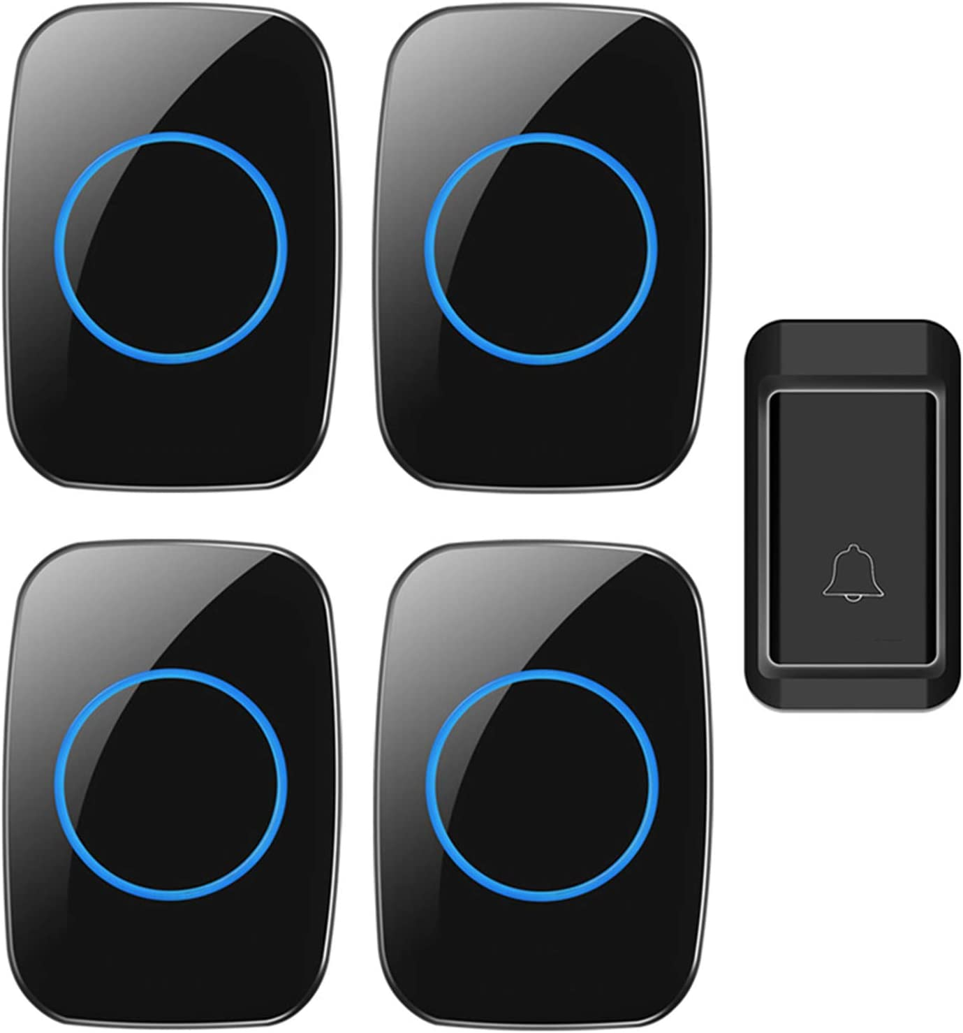 YLSS Cordless Doorbells Waterproof safety Mini Door Kit Wireless Arlington Mall Chime