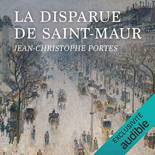 Couverture de La disparue de Saint-Maur