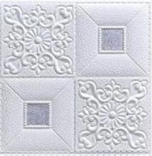 10st 3d klistermärken takvägg klistermärke tak dekoration skum tapet vattentät tv bakgrund tapeter dekoration klistermärke...