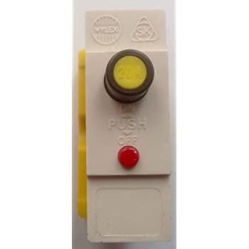 NEW Wylex 30A Push Button Plug In MCBs type B With Bases