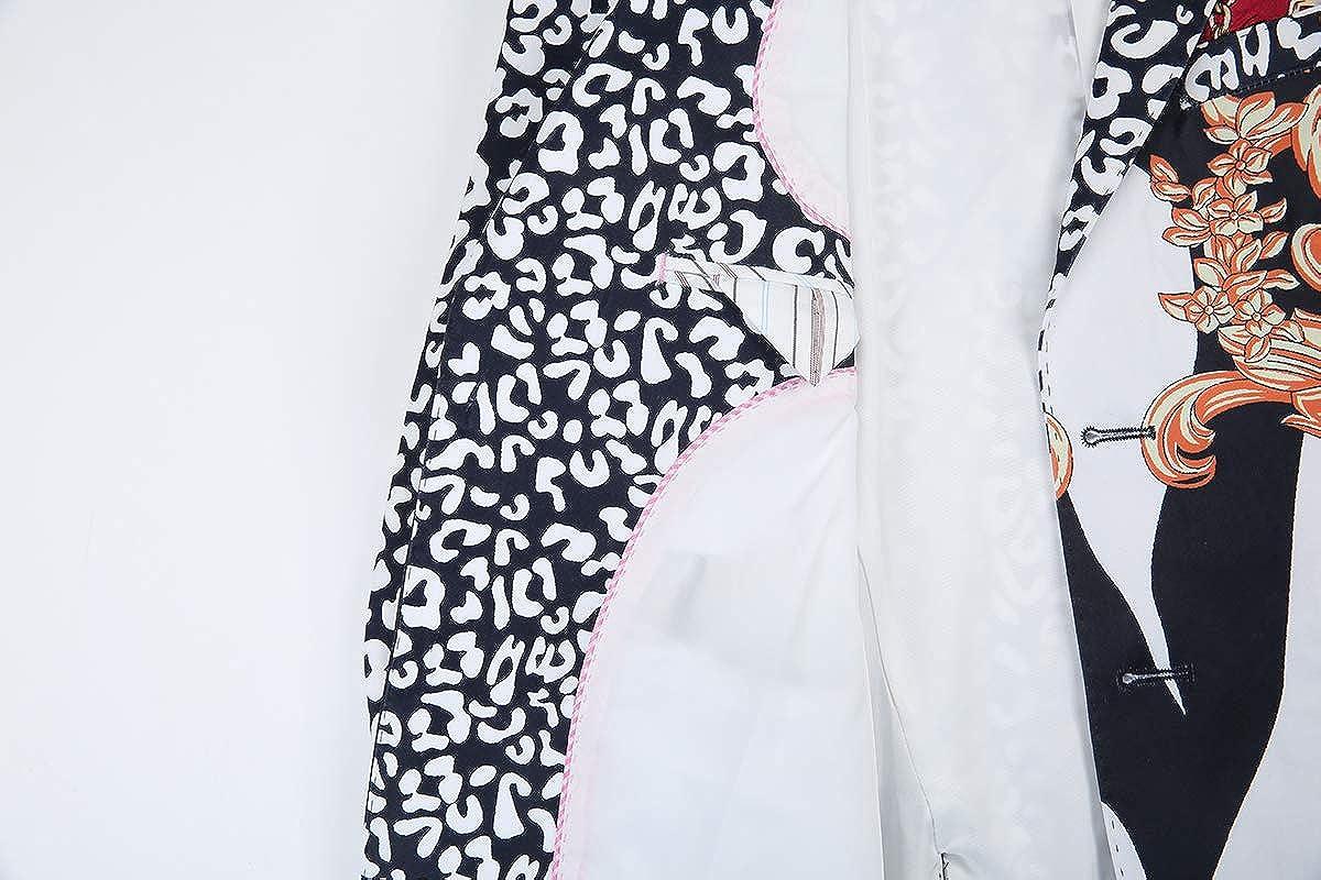 Piero Lusso Boys Fashion Digital Print Sport Blazers Casual Jackets