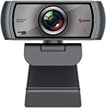1080P 60fps Webcam with Microphone, 120 Wide Angle HD USB Computer Camera for Zoom/Skype/FaceTime/Teams Meeting, Mac/PC/La...