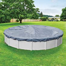 Pool Mate 4615PM Classic Winter Pool Cover for Round Above Ground Swimming Pools, 15-ft. Round Pool